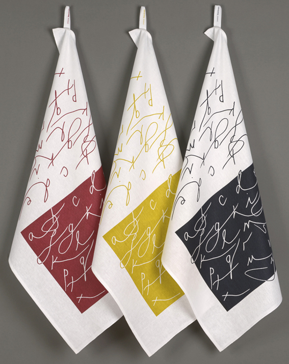 Alphabet tea towels-1